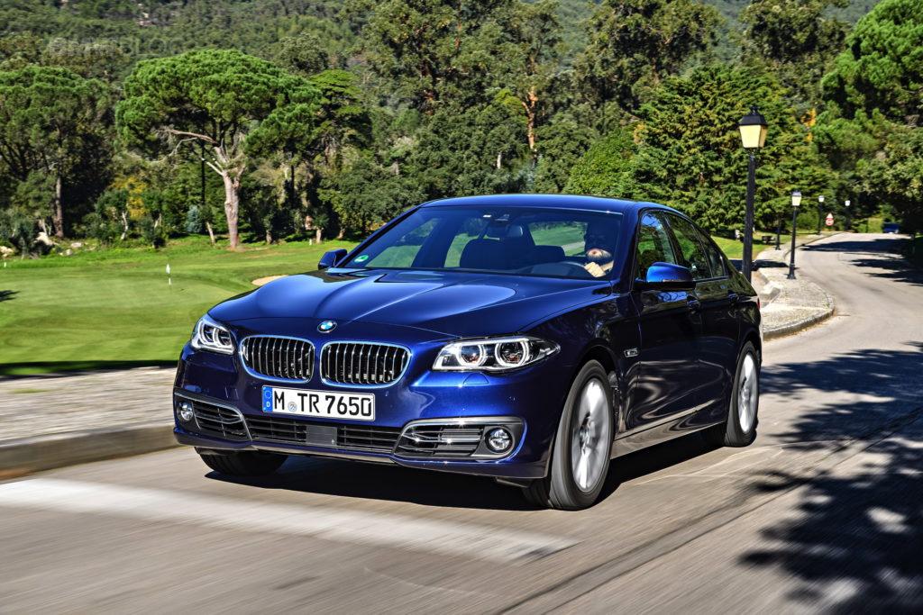 BMW F10 5 Series driving