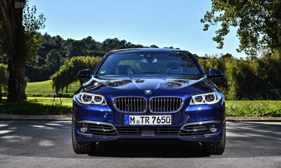 BMW F10 5 Series front