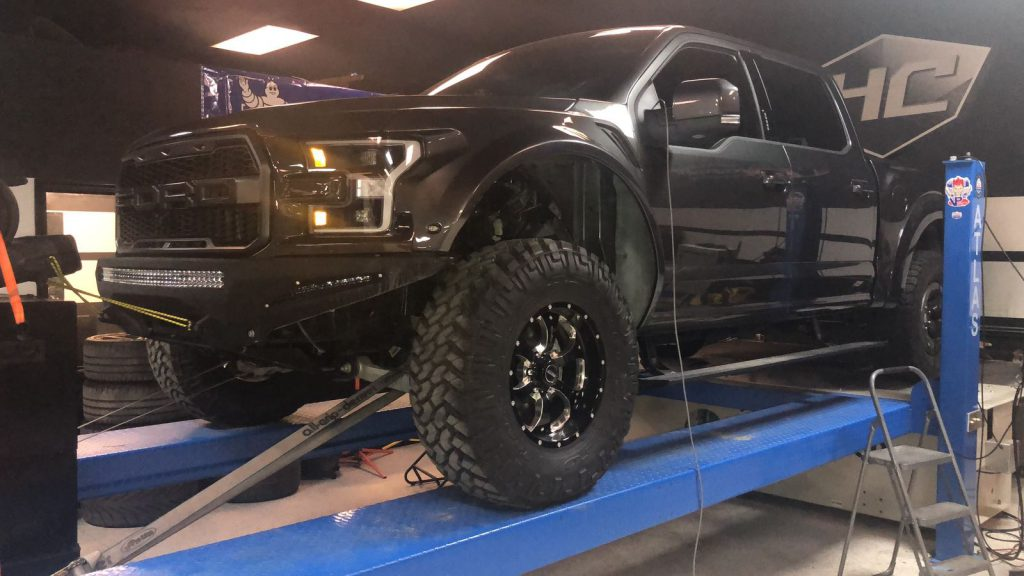 Ford F150 Raptor EcoBoost tuning