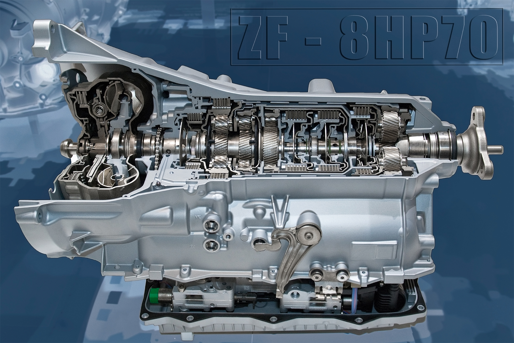 Latest ZF 8HP Gearbox Tuning - ZipTuning