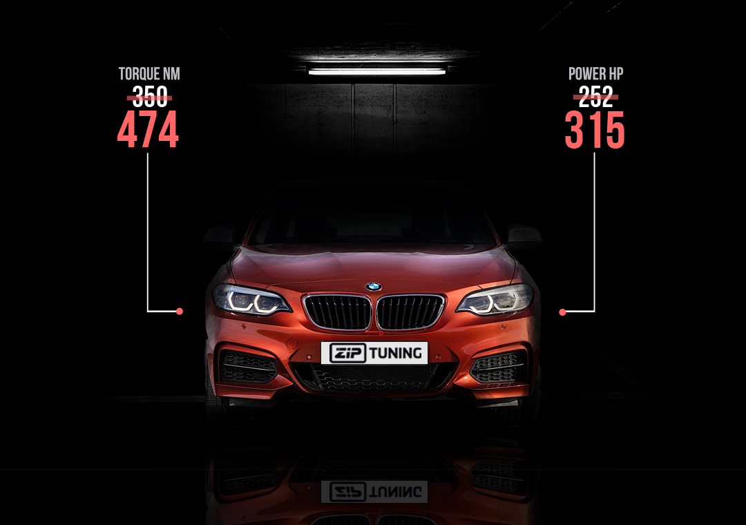 bmw 230i tuning just shy of the m2 ziptuning blog. Black Bedroom Furniture Sets. Home Design Ideas