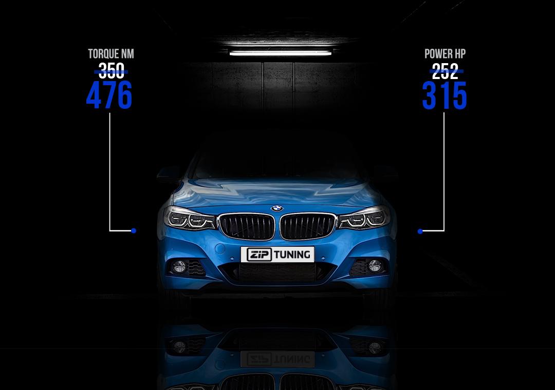 BMW 330i GT tuning