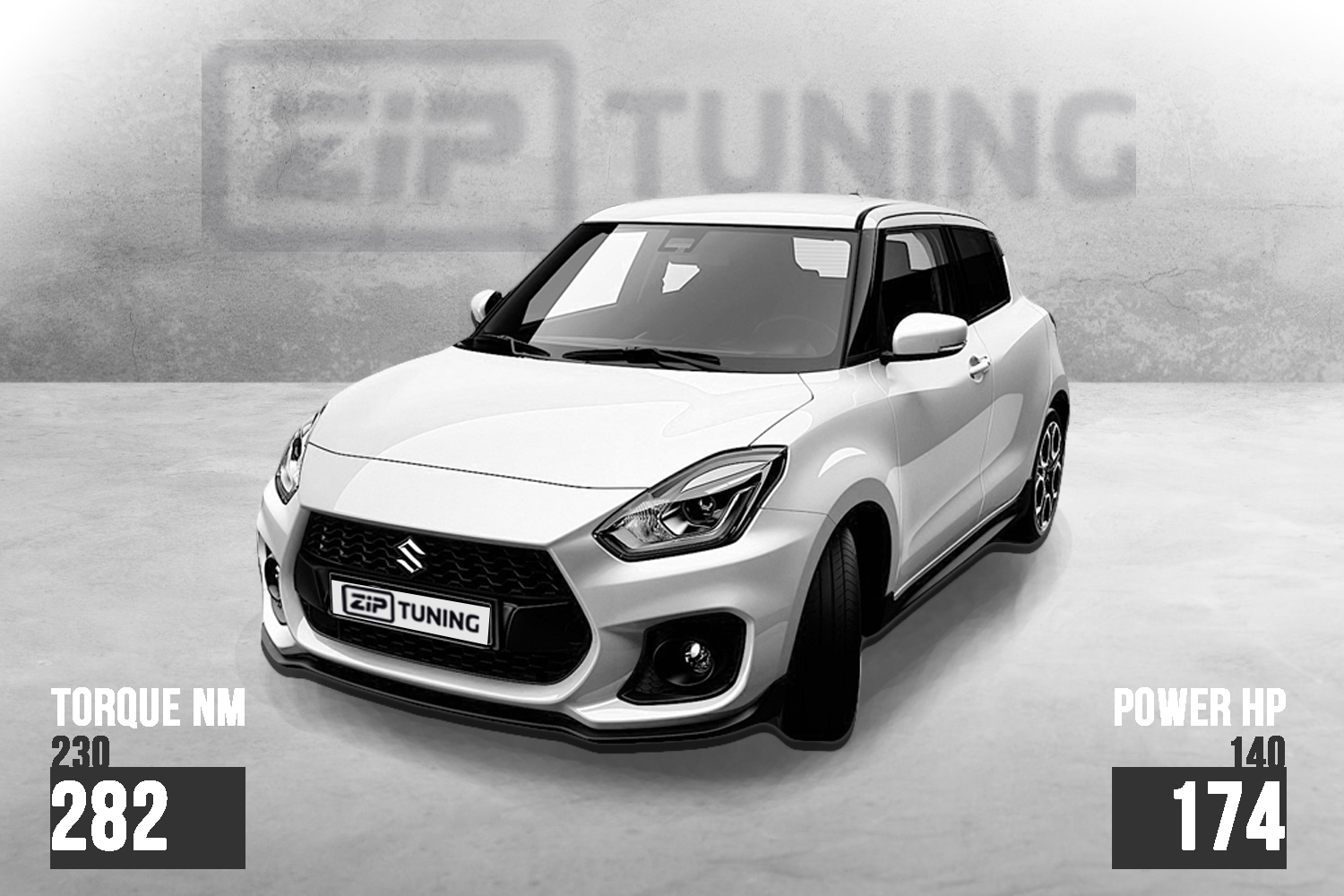 suzuki swift sport tuning 1 4 boosterjet with 174 hp and. Black Bedroom Furniture Sets. Home Design Ideas