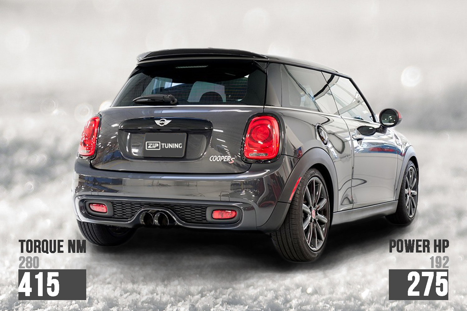 Mini Cooper S F56 Tuning 275 Hp And 415 Nm Ziptuning Blog